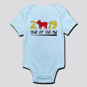 year of the pig 2019 Body Suit