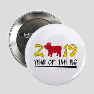 "year of the pig 2019 2.25"" Button"