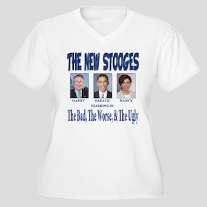 Anti barack Obama Women's Plus Size V-Neck T-Shirt