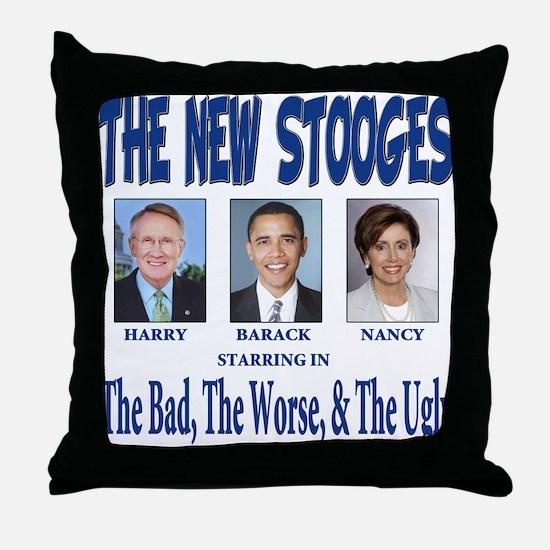 Anti barack Obama Throw Pillow