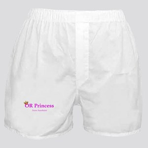 OR Princess CRNA Boxer Shorts
