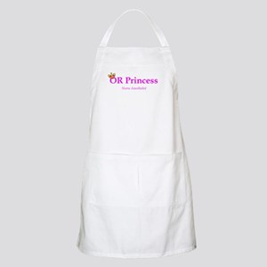 OR Princess CRNA BBQ Apron