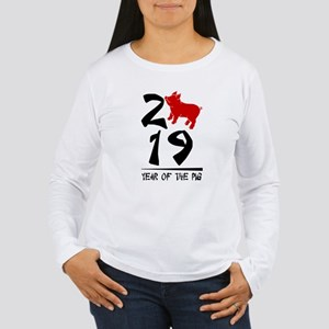 year of the pig 2019 Long Sleeve T-Shirt