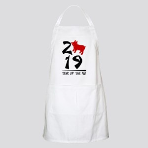 year of the pig 2019 Light Apron