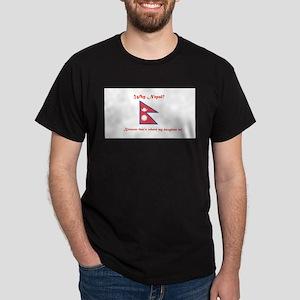 Why Nepal? Daughter Dark T-Shirt