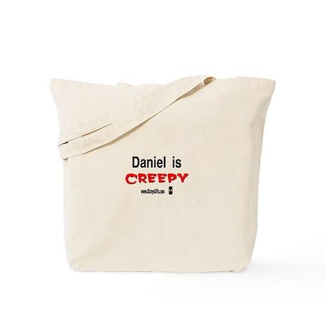 CREEPY DANIEL Tote Bag