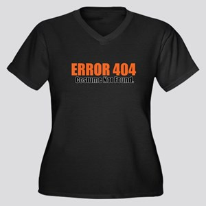 Costume Not Found Plus Size T-Shirt