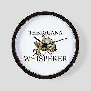 The Iguana Whisperer Wall Clock