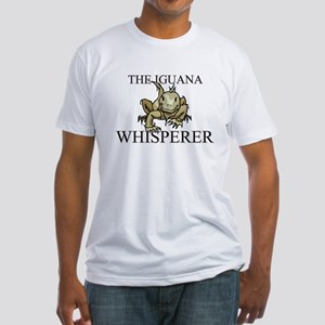 The Iguana Whisperer Fitted T-Shirt