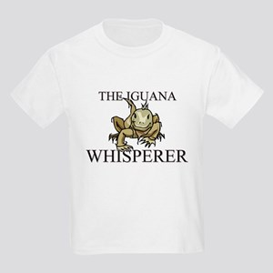 The Iguana Whisperer Kids Light T-Shirt