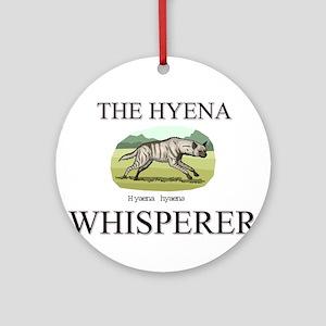 The Hyena Whisperer Ornament (Round)