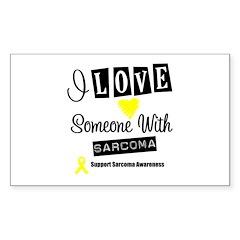 SarcomaSupport Rectangle Sticker 10 pk)