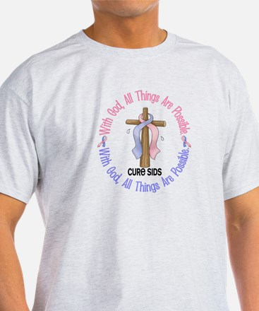 With God Cross SIDS T-Shirt