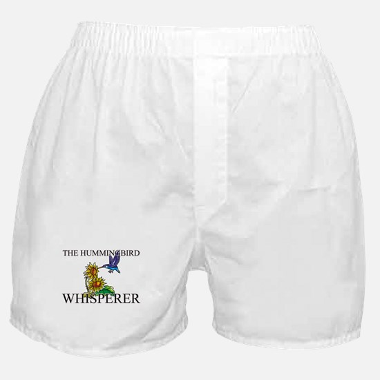 The Hummingbird Whisperer Boxer Shorts