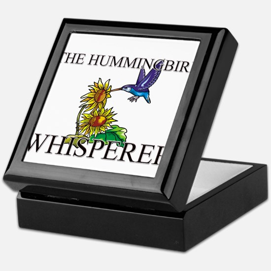 The Hummingbird Whisperer Keepsake Box