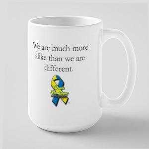 Much More Alike Large Mug