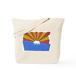 California's Continuing Cultural Conquest Tote Bag