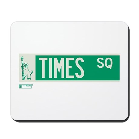 Times Square in NY Mousepad
