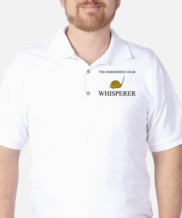The Horseshoe Crab Whisperer Golf Shirt