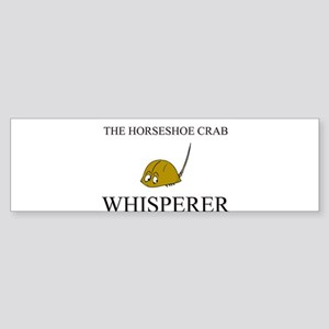 The Horseshoe Crab Whisperer Bumper Sticker
