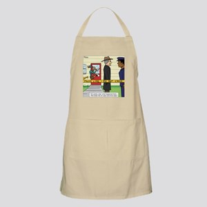 """Open and Shut Case"" Apron"