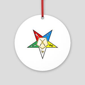 OES Secretary Ornament (Round)