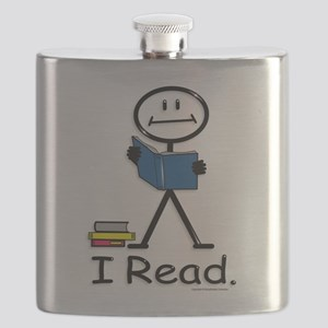 Reading Stick Figure Flask