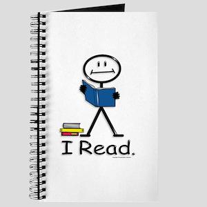 Reading Stick Figure Journal
