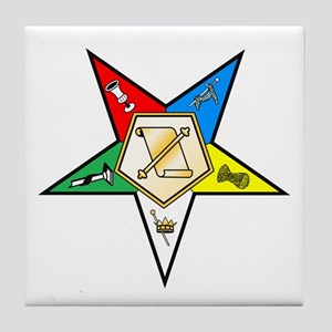 OES Conductress Tile Coaster