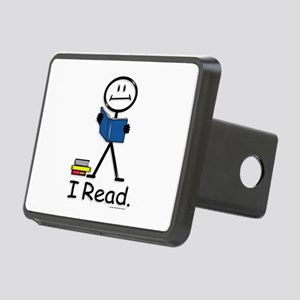 Reading Stick Figure Rectangular Hitch Cover