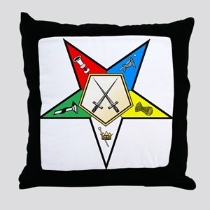 OES Sentinel Throw Pillow
