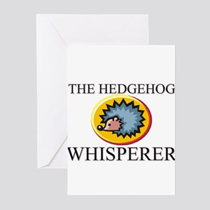 The Hedgehog Whisperer Greeting Cards (Pk of 10)