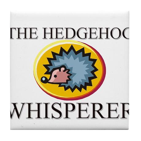 The Hedgehog Whisperer Tile Coaster