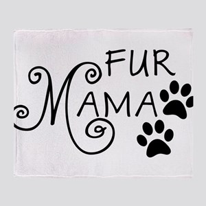 Fur Mama Throw Blanket