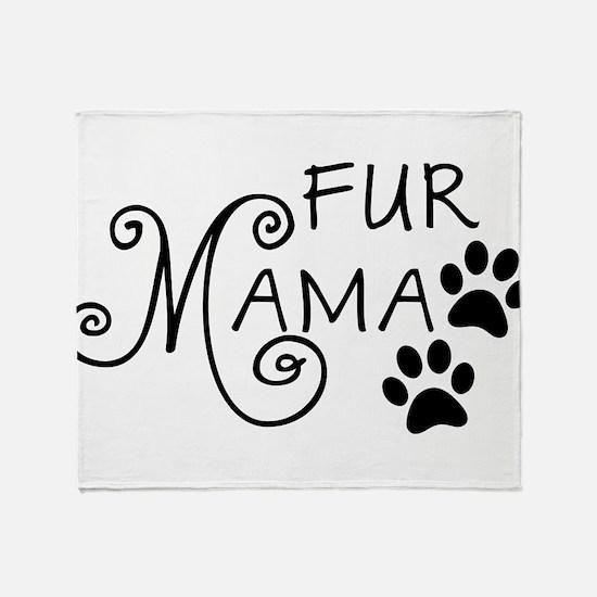 Fur Mama Throw Blanket