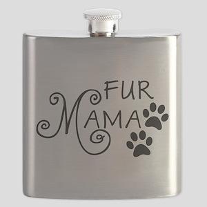 Fur Mama Flask