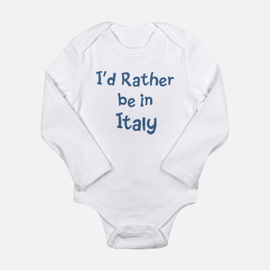 Rather be in Italy Body Suit