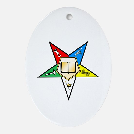 OES Chaplain Oval Ornament