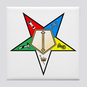 OES Associate Conductress Tile Coaster