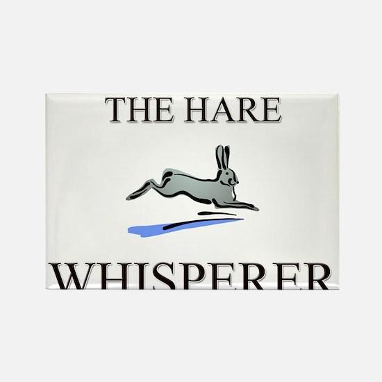 The Hare Whisperer Rectangle Magnet