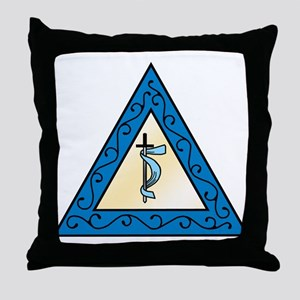 OES Adah Throw Pillow