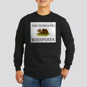 The Guinea Pig Whisperer Long Sleeve Dark T-Shirt