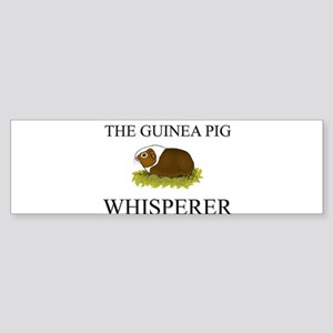 The Guinea Pig Whisperer Bumper Sticker