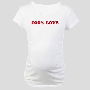 100% LOVE Maternity T-Shirt