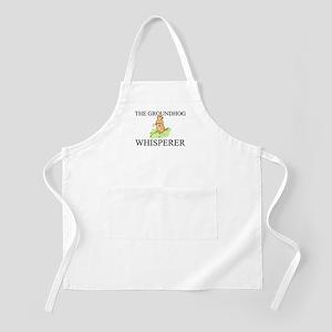 The Groundhog Whisperer BBQ Apron