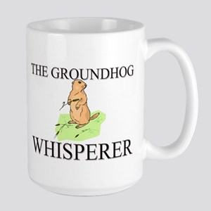 The Groundhog Whisperer Large Mug