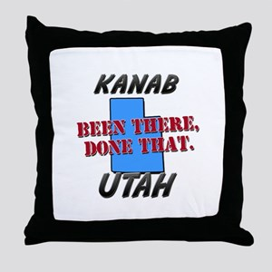 kanab utah - been there, done that Throw Pillow