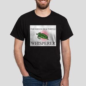 The Green Sea Turtle Whisperer Dark T-Shirt