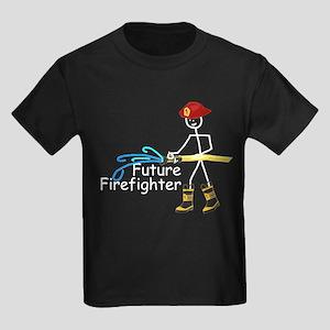Future Firefighter Kids Dark T-Shirt