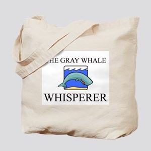 The Gray Whale Whisperer Tote Bag